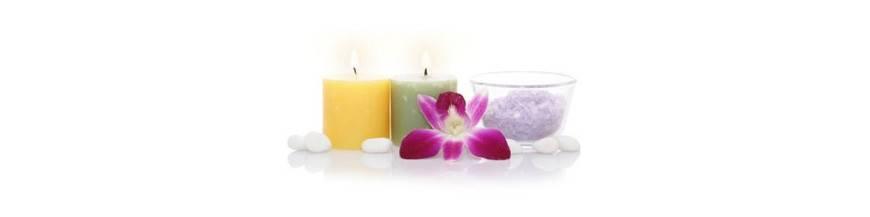 Inciensos, velas, masaje...
